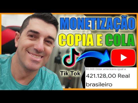 [ COMPROVADO ] Monetizado R$ 421.128,00 Copiar e Colar | Com VÍDEOS DO TIKTOK