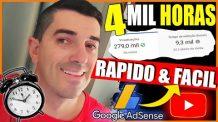 [ GARANTIDO ] SEO – Como conseguir as 4 mil Horas e os 1000 inscritos no Youtube. FALEI DEMAIS…