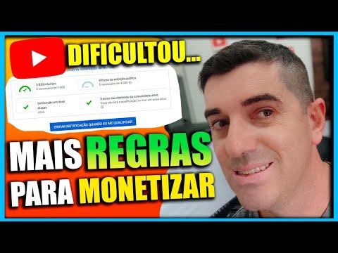 [ CUIDADO ❌ ] Novas Regras de Monetização ✅ para Canais de Youtube Entenda